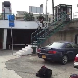 One of the biggest rail gap from @daanvanwezel . He had a bad experience…