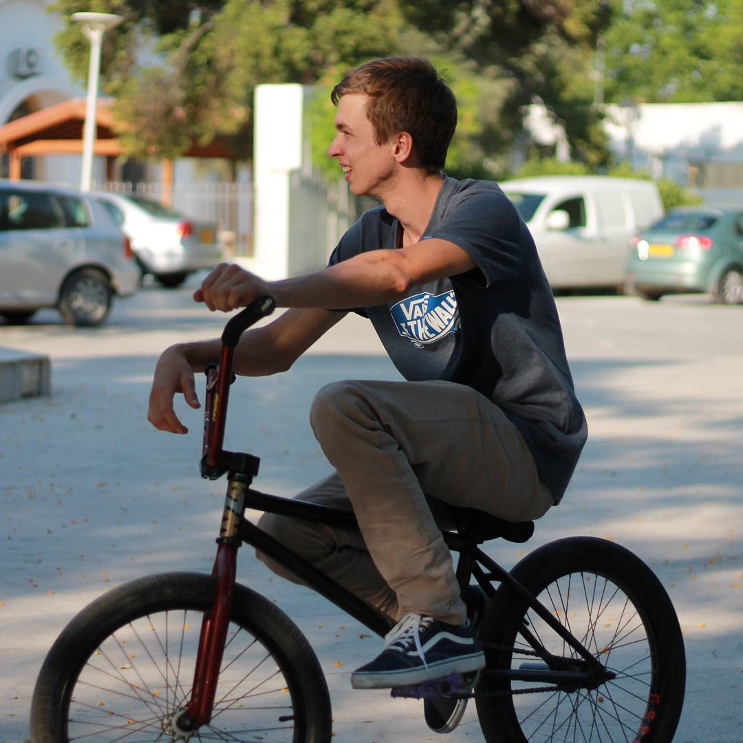 @sparrow266 on the spot #cyprus #bmx #nicosia #riding