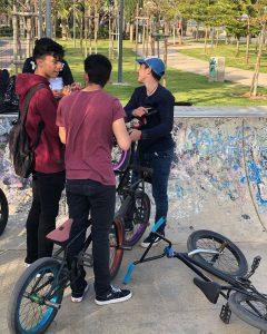 Monday session on molis with boys ️ – – #bmx #bmxlife #bike #bmxstreet #mtb…