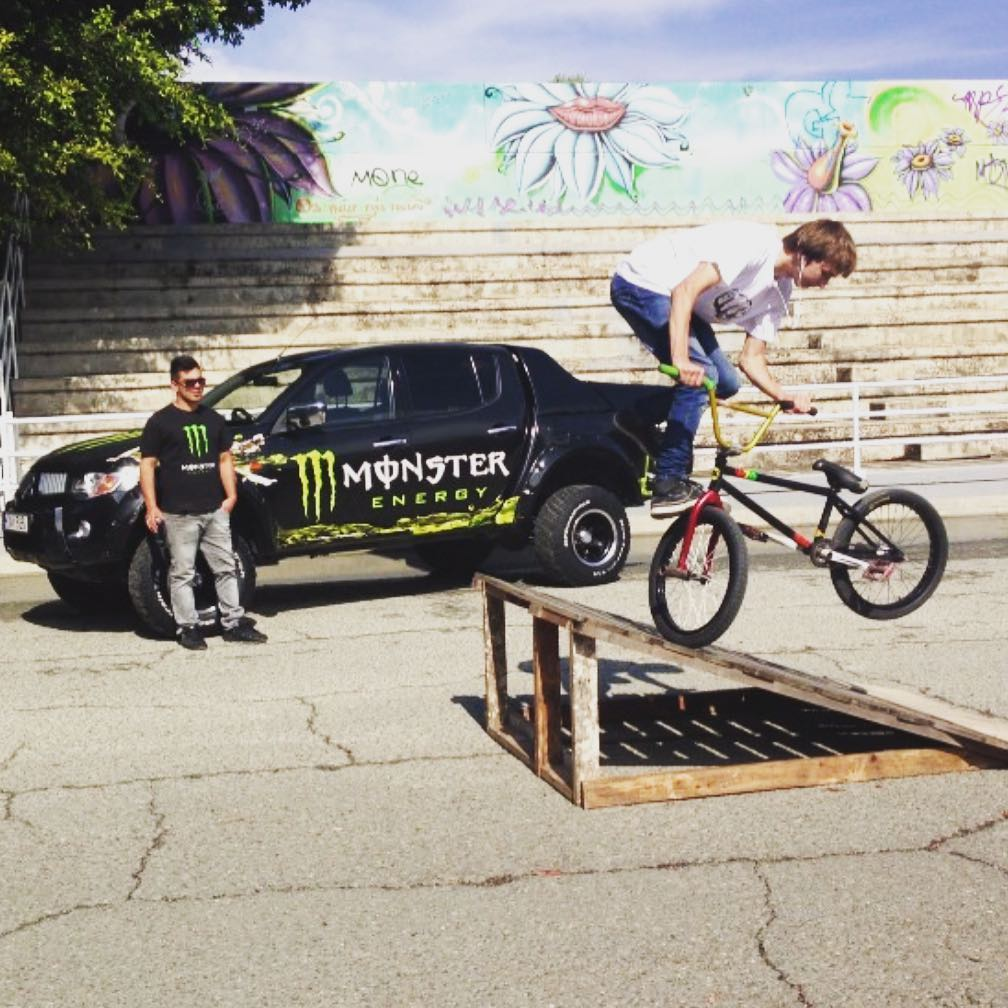 Throwback from bmx contest in Limassol, send us your videos to be featured on…