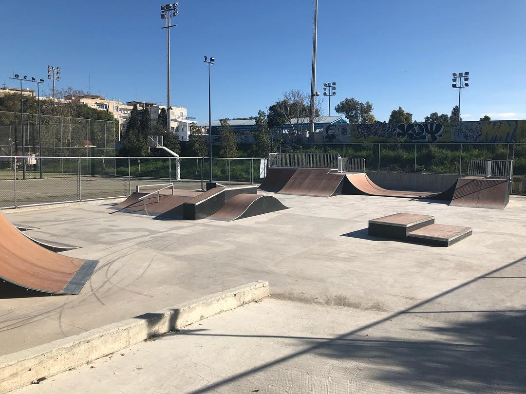 Saturday sunny day, why not to join the NICOSIA skatepark – – #nicosia #skatepark…