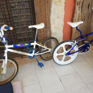 Father and Daughter ride out #bmx #oldskoolbmx #cyprus #cyprusbmx