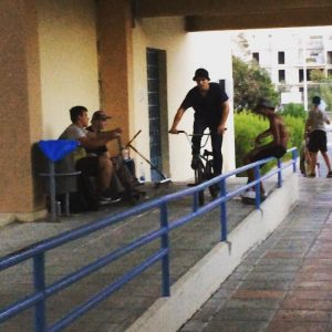 Yesterday's slow jib ️ @nikolaydemidenko. @teamislandbmx @go4itcyprus #cyprusbmx #chill #odessabmx #street #spot #hotday #teamisland…